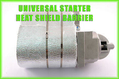 Ford Small Block Starter Aluminized Blanket Header Heat Shield High Temperature