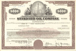 STANDARD-OIL-COMPANY-stock-certificate-bond-share