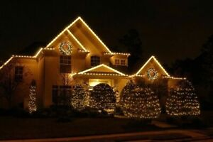 DO YOU STILL HAVE CHRISTMAS LIGHTS UP AND     WANT THEM DOWN??