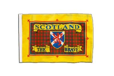 Schottland Scotland The Brave Banner schottische Fahnen Flaggen 30x45cm (Land Flagge Banner)