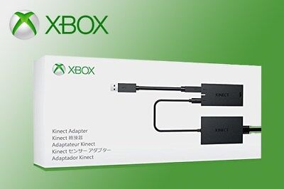 Xbox Kinect Adapter for Xbox One S + Windows 10 PC Computer XB1 XBONE Accessory, used for sale  Shipping to South Africa