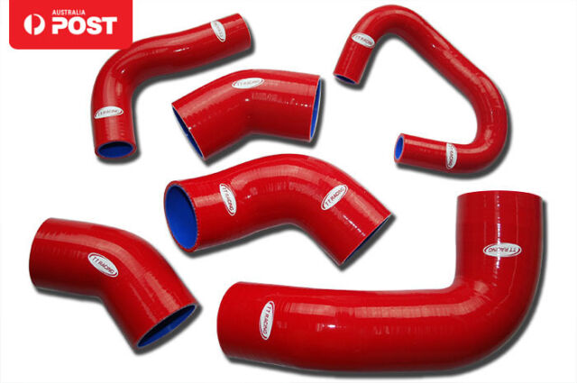 Silicone Intercooler Turbo Hose Kit for Mitsubishi Lancer EVO 7 8 9 CT9A Red