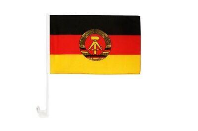 DDR SKULL FLAG DAMEN LANGARM T-SHIRT Flagge Fahne Banner Deutschland Ost Schädel