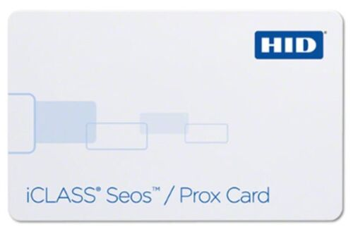 HID 5106RGGMNM iCLASS SEOS 8K Prox Card 50 Pack Prog with HID Format [CTA]