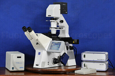 Zeiss Axio Observer Z1 Motorized Inverted Fluorescence Microscope
