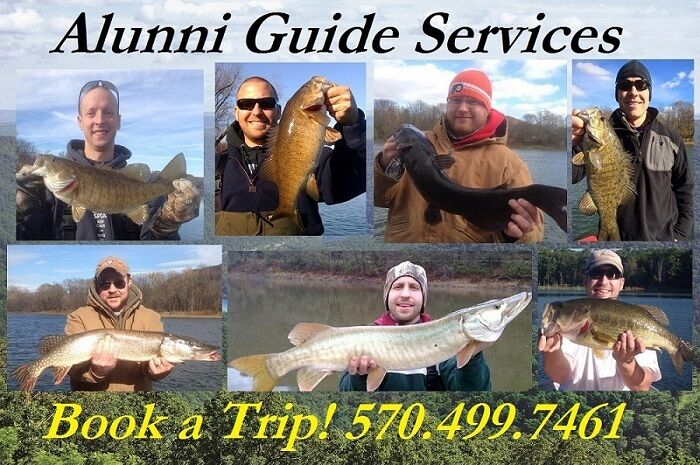 Guided Fishing Trip Northbranch Susquehanna River Smallmouth Musky Walleye
