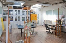 Light Wonderful Studio/Office - 319, Netil House, Hackney, Shoreditch, East London E8