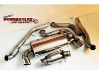 BMW M135i full stainless steel sports catback powervalve exhaust system
