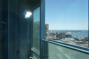 1Br + Den In The Prestigious L Tower! South Facing W/Views Of Th