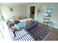 2 bedroom 2 bath flat, Boardwalk Place, E14 5GB balcony, porter, parking, 7 mins to Canary Wharf