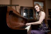Pianiste chanteuse pour divers événements