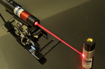 660nm 100mw Focusable Red Laser Dot Module With Power Adapter