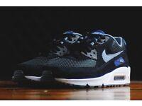 Nike airmax 90 size 8.5!black new Nike huaraches new