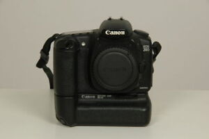 Canon 20D with battery grip