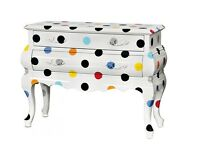 CHEST OF DRAWERS SELETTI CONSOLE TABLE LOUIS STYLE CONTEMPORARY