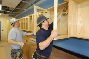 IMMEDIATE HIRE - CABINET MAKERS