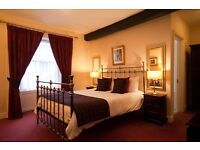 Couple Required for Hotel Housekeeper & Bar Work FREE LIVE IN AVAILABLE Keswick