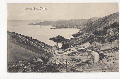 Bouley Bay Jersey Vintage Postcard  217a
