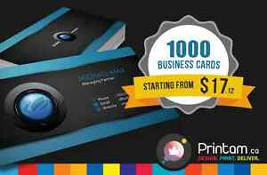 Do you Need 1000 Business Cards? Starting $17.12