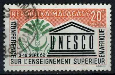 Malagasy Rep. 1962 SG#46 UNESCO Used #E83466