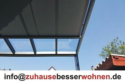 Unterdachbeschattung - Markise für Terrassendach Terrassenüberdachung  3,5x4m