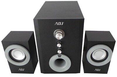 Kit Casse Altoparlanti Amplificati 2.1 - Subwoofer + 2 altoparlanti - ADJ SP805