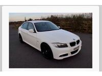 White BMW 3 series 318 performance edition M Sport full leather