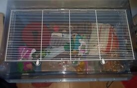 Feraplast duna multi large hamster cage with accessories
