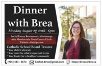 Election Fundraiser - Dinner with Brea