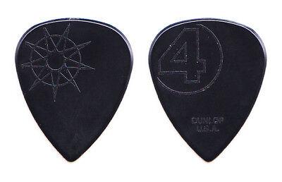 Slipknot Jim Root Signature Black Molded Guitar Pick - 2016 Tour #4