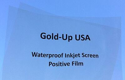 Waterproof Inkjet Transparency Film 13 X 19 100 Sheets - 4 Mil