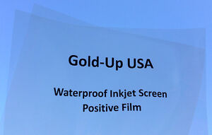 Waterproof Inkjet Transparency Film 13