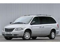 CHRYSLER GRAND VOYAGER,JEEP GRAND CHEROKEE WANTED,ALL CONSIDERED