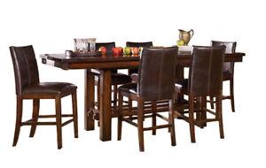 Beautiful solid mahogany dining set