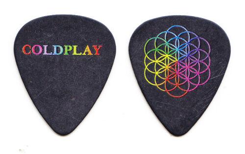 Coldplay Chris Martin Flower Of Life Guitar Pick - 2016 Head Full Of Dreams Tour