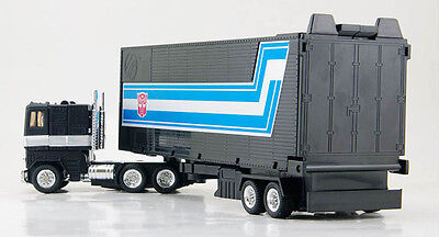 Top G1 Reissue TRANSFORMERS AUTOBOT Black Optimus Prime Spielzeug Kinder Action- & Spielfiguren