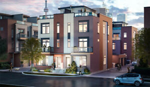 New townhomes and semis in Regent Park Toronto!