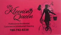 The Kleening Queen At Your Service!!
