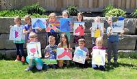 Paint & Popcorn Kids Paint Parties