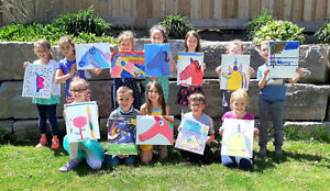 Paint & Popcorn Kids Paint Parties