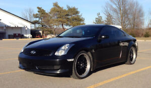 "2007 Infiniti G35 Rev-Up Coupe (2 door) - Staggered MSR 20"" Rims"