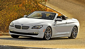 WANTED  2012-2014 BMW 650i Convertible