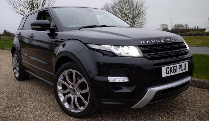 2011 land rover range rover evoque sd4 dynamic lux diesel black automatic in orpington london. Black Bedroom Furniture Sets. Home Design Ideas