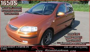 Suzuki Swift+ *1 AN GARANTIE *+ A/C + PONTIAC WAVE 2006