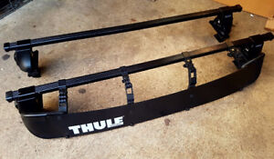 Thule roof racks for Honda Civic 4dr 2000-2005 (IMMACULATE)