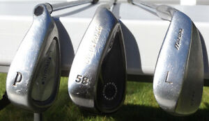 Callaway, Cleveland and Mizuno Wedges. Men's Right Hand