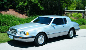 1986 Mercury Cougar 5.0L 71km All original, no winters.