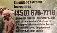 émondage,élagage meilleur prix/service  émondage extreme!!