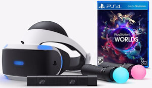 PS4VR + PS4 Play Station 4 VR