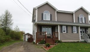 Nice two story semi-detached with privacy